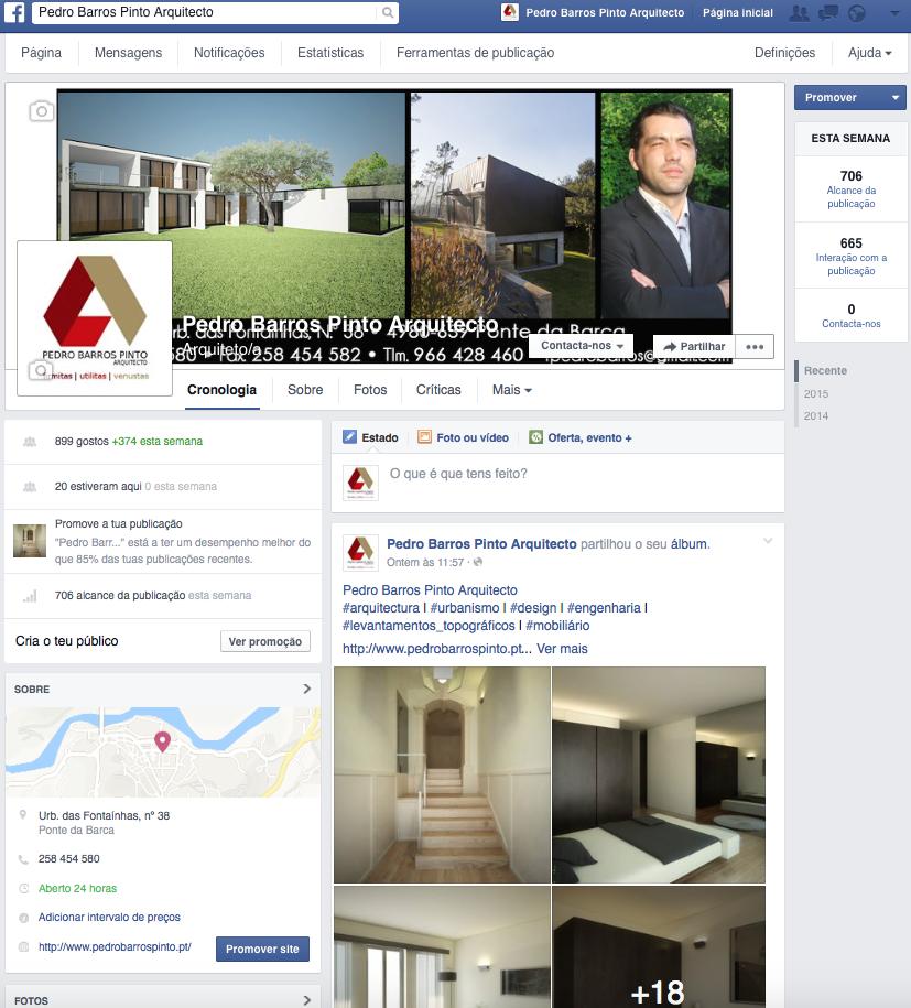 infogenial, gestão de redes sociais, pedro barros pinto arquitecto, arquitectura, urbanismo, design, ponte da barca