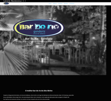 infogenial, websites, sítios web, web development, bar do rio, gondoriz, arcos de valdevez