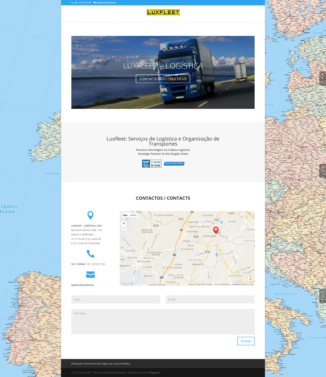 luxfleet servicos de logistica e organizacao de transportes